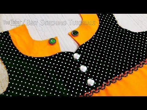 Collar Style Front Neck Design   Latest Kurti Collar Neck Designs - YouTube