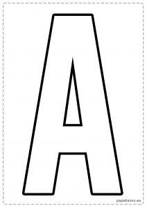 A letras para recortar y pegar guirnalda feliz cumpleaños