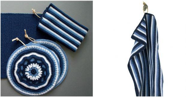 DIY: Hæklet køkkenhåndklæde | ISABELLAS