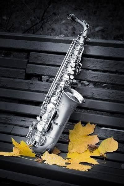 Splash of Color photography / saxophone musical images