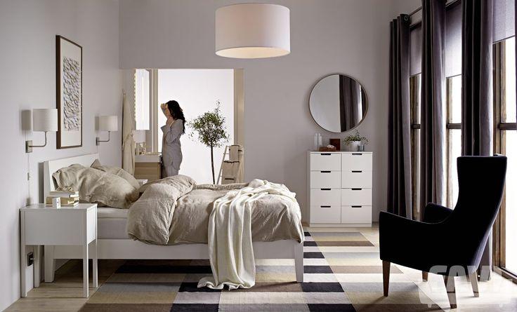 Moderní ložnice inspirace - Ložnice IKEA | Favi.cz
