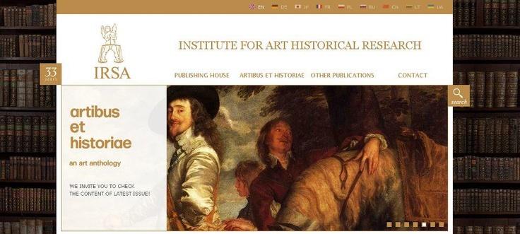 We created website for IRSA.    www.irsa.com.pl