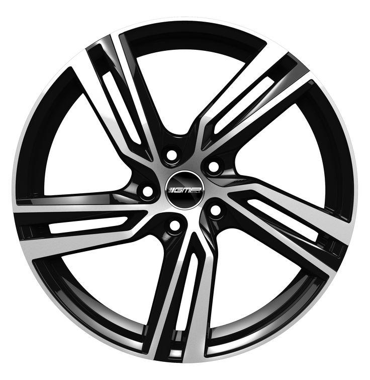 Arcan Black Diamond Alloy wheel / Cerchio in lega leggera Arcan Nero Diamantato Front