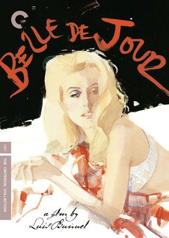 Belle du jour, directed by Luis Buñuel. 1967. Spine # 593.