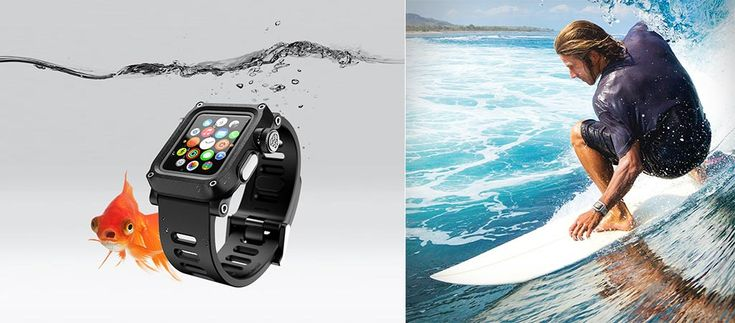 The Lunatik Epik H20 is an impact resistant and waterproof case for your Apple Watch that not only offers protection but allows access to sensors as well.