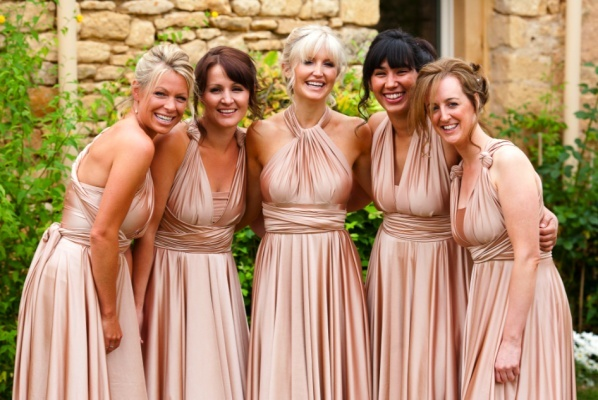 two birds bridesmaid dresses  Girls--These are pretty awesome! 15 different ways to tie them!  The only problem--$$$$