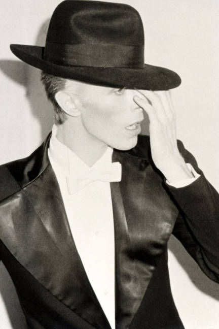 David Bowie at The Grammy's, 1975