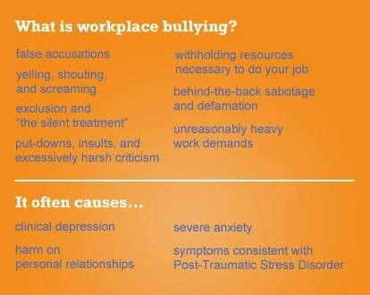 Workplace Bullying.... wow this sounds like my husband's work environment