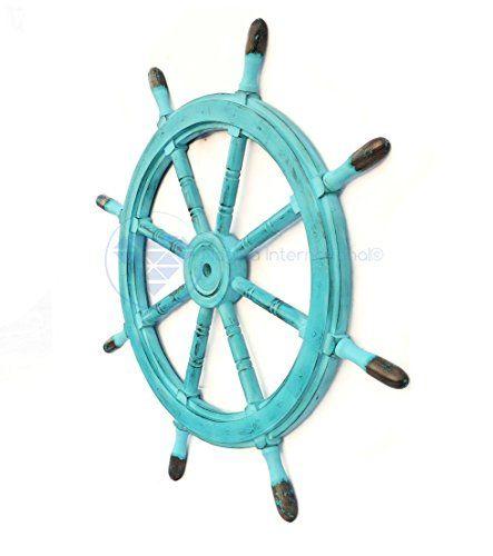 Nautical Handcrafted Wooden Ship Wheel - Home Wall Decor ... https://www.amazon.com/dp/B01DO73U3E/ref=cm_sw_r_pi_dp_x_qZoHyb6Z3V2B0