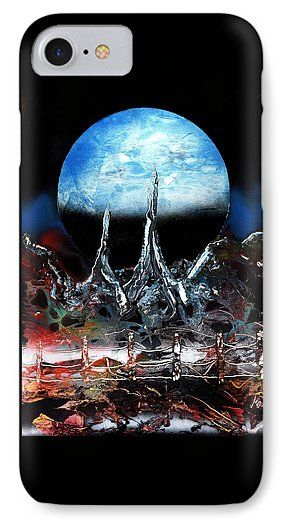 Printed with Fine Art spray painting image My Home by Nandor Molnar (When you visit the Shop, change the orientation, background color and image size as you wish)