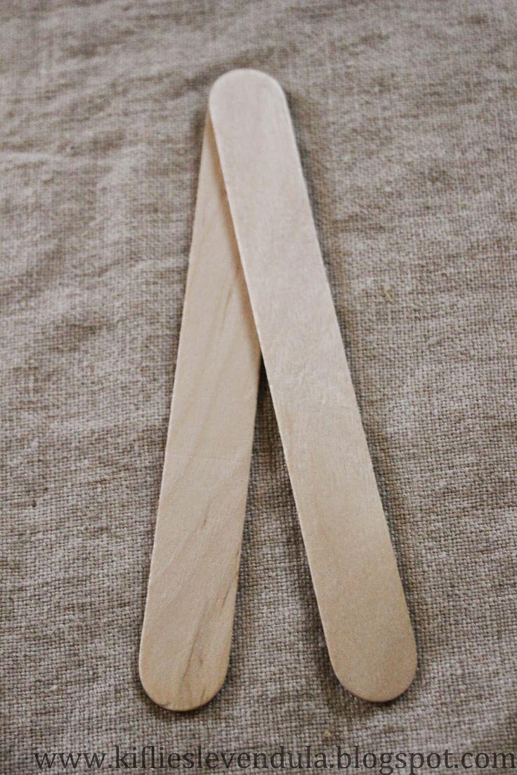 Kifli és levendula: Mézeskalács-figurák faspatulából