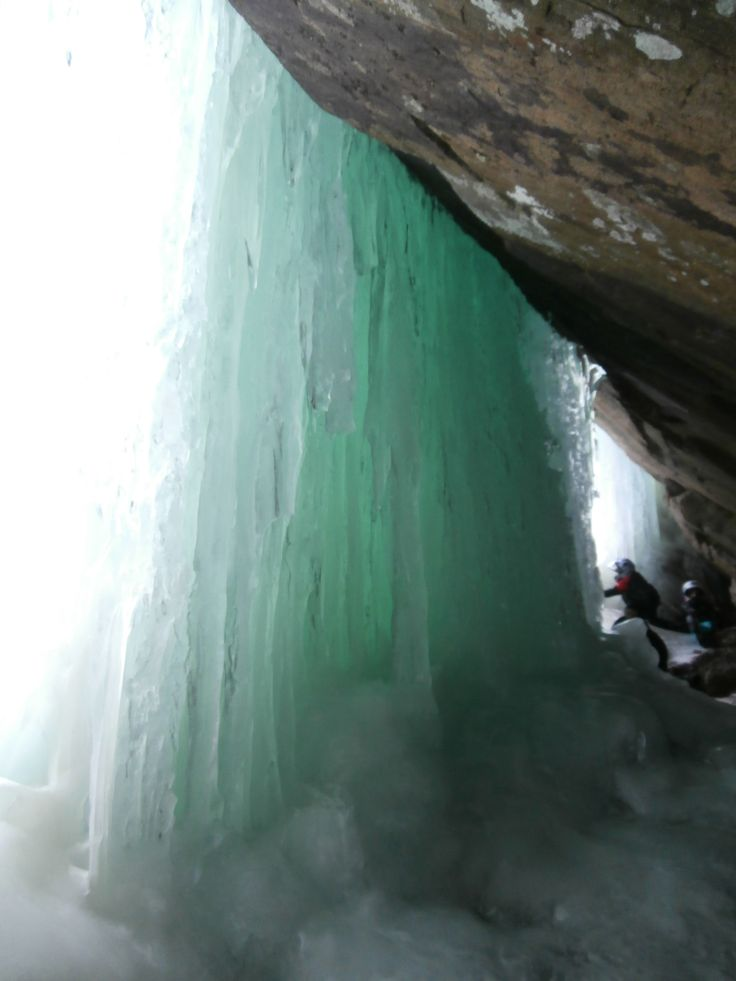 Scenic Ice Caves Kearney, Ontario, Canada.  Visit our Muskoka Cottage Rentals or contact for fun things to do in the area.  http://www.sandlake.on.ca