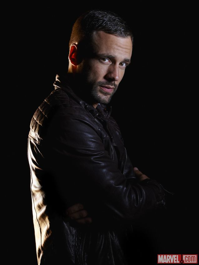 Nick Blood stars as Lance Hunter in Marvel's Agents of S.H.I.E.L.D.