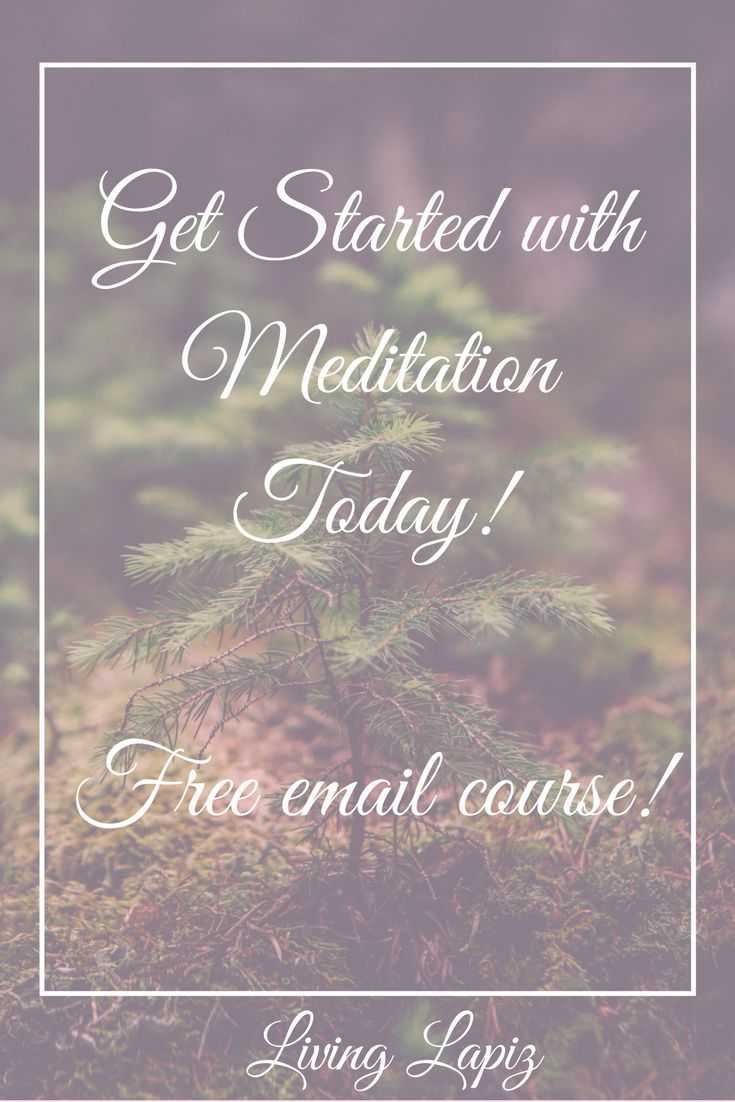 Are you interested in learning how to meditate? Do you want to make a significant positive change in your life? Are you ready to take your spiritual practice to the next level? Then my free meditation email course is for you! In this course I will teach you everything you need to know in order to start and maintain your practice today! Also there's a special bonus at the end of the course! Sign up today!