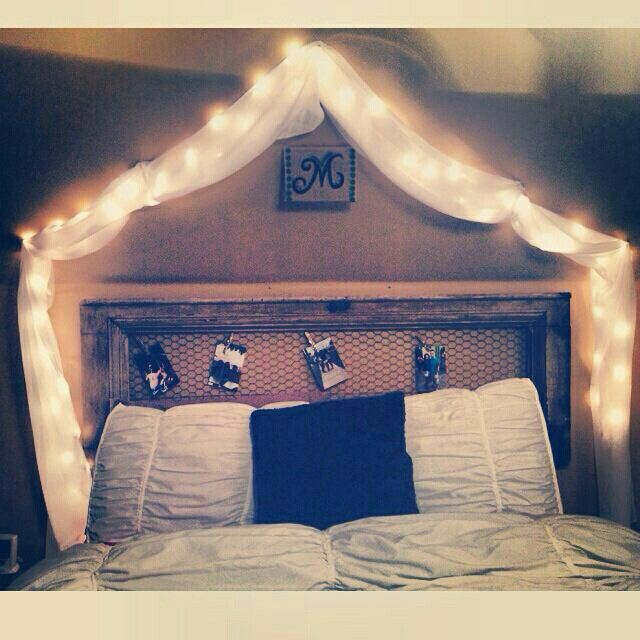 Cute idea for a bed