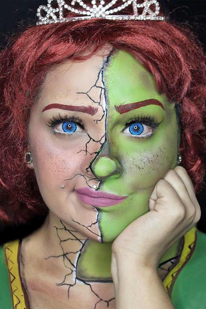 Fantasy makeup is the perfect way to escape the grim reality. Sometimes it is exactly what you need to get yourself back in shape. Try it out!