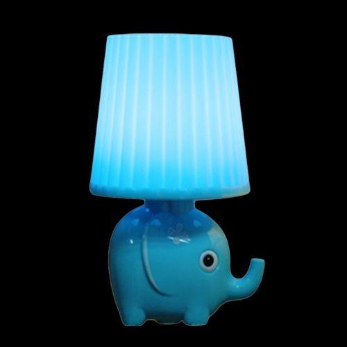 YJY-Light-Sensor-Night-Light-Lovely-Elephant-Intelligent-Control-LED-Wall-Lamp