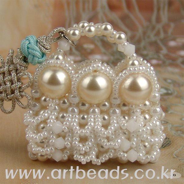 gorgeous little beaded purse