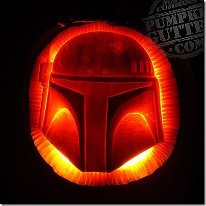 8 great boba fett pumpkin carvings star wars halloweenhalloween pumpkinshalloween ideashomemade - Star Wars Halloween Pumpkin Carving Patterns