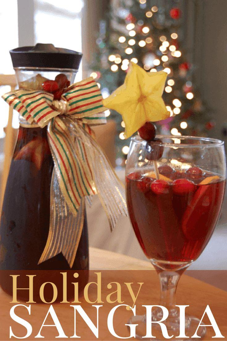 Holiday Sangria ~ http://thetravelbite.com