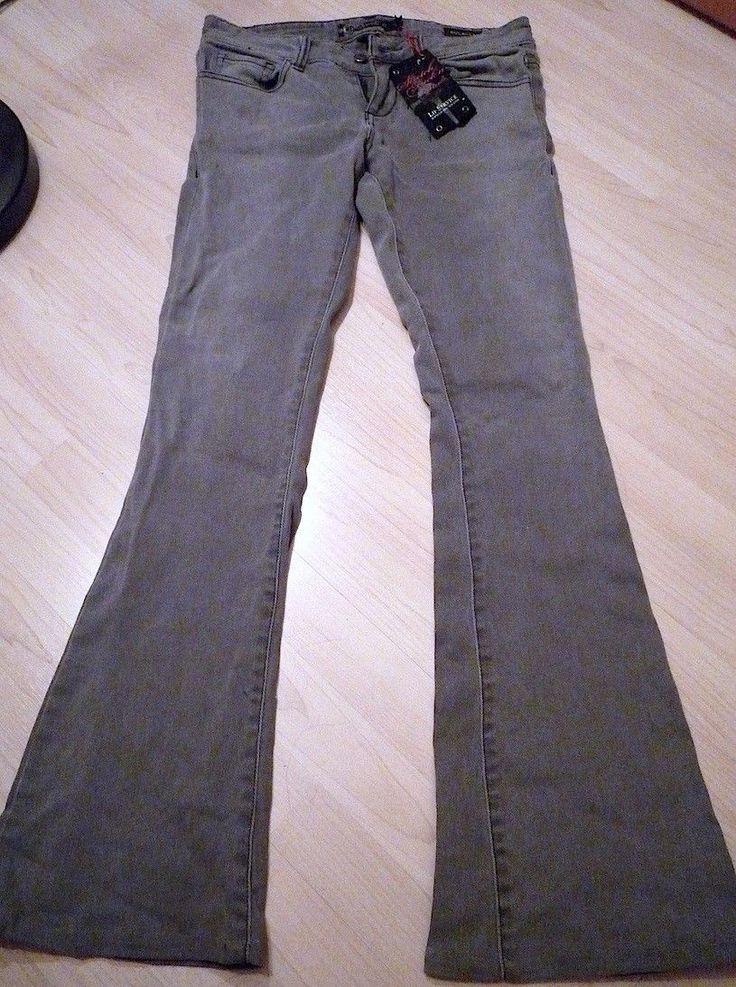 """LIP SERVICE Rock'n'Roll Jeans """"Rock Of Love"""" bootcut pants #63-256"""