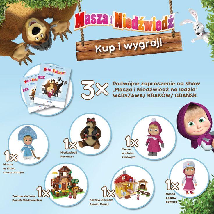 Tydzień z Maszą i Niedźwiedziem - wygraj bilety na show!