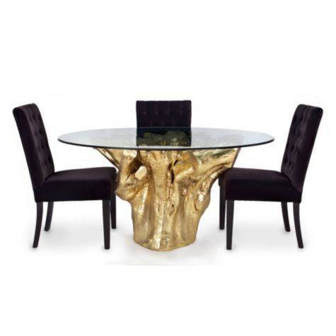 Sequoia dining table from z gallerie dining areas for Z gallerie dining room table