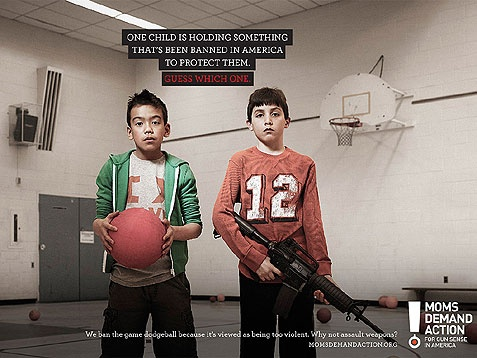 Moms Demand Gun Control With Controversial Ads