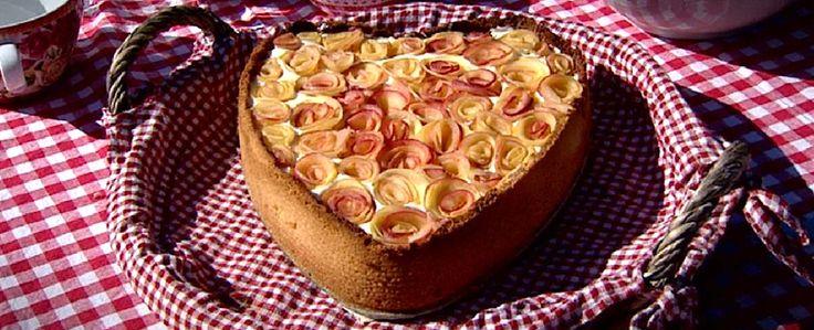recept zie http://www.koffietijd.nl/hartvormige-appeltaart-met-banketbakkersroom/
