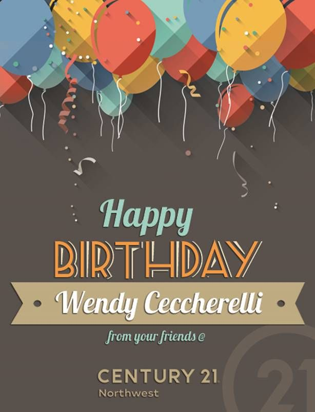 Happy Happy Birthday Wendy Ceccherelli We Hope You Are Having A