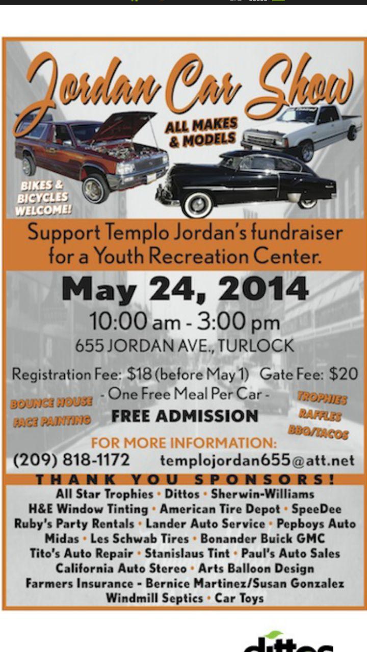 Jordan Car Show | 5/24/2014 | Turlock, CA