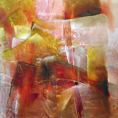 """Annette Schmucker, """"Farbspiel III"""" With a click on 'Send as art card', you can send this art work to your friends - for free!"""