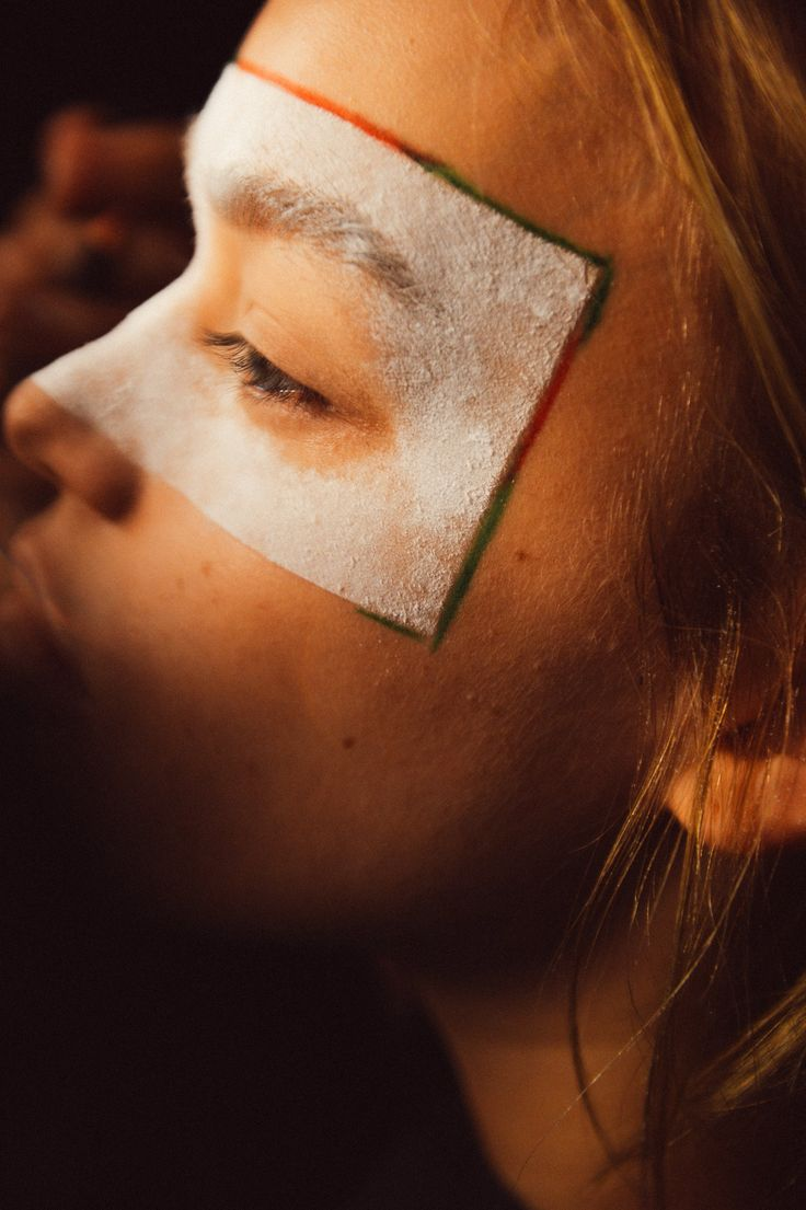 At Vivienne Westwood's London Homecoming Extravaganza, Face Paint Was Practically Required Photos | W Magazine