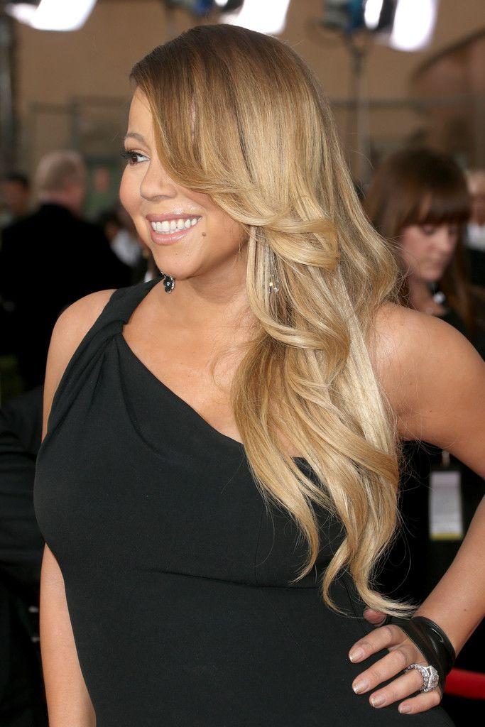 Mariah Carey Feathered Flip - Feathered Flip Lookbook - StyleBistro