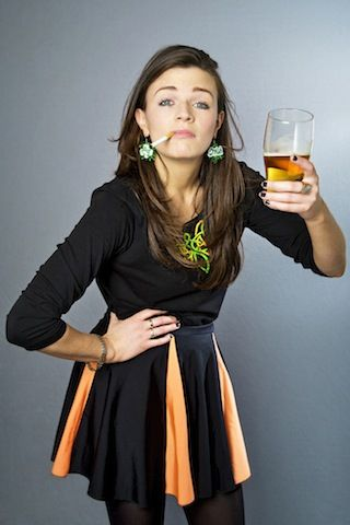 Aisling Bea - Appeared on the most recent QI, and I personally thought she was really good; Now she's turning up all over the place :D