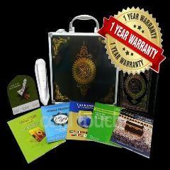 [ $91 OFF ] 1 Year Warranty 8Gb Holy Quran Pen Reader Metal Box Quran Reader Player For Muslim Quran Talking Pen