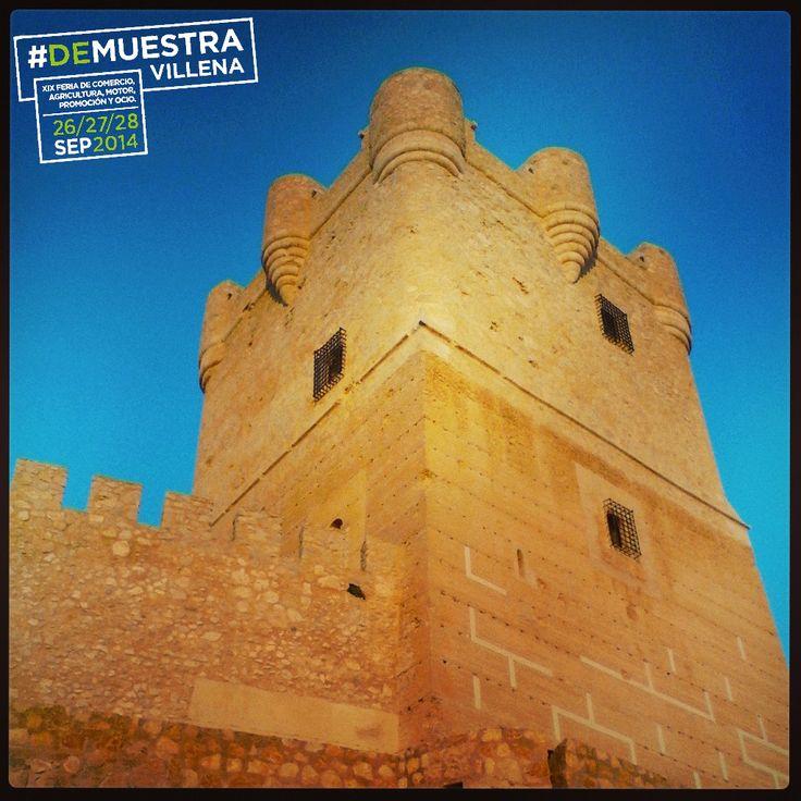 Castillo de la Atalaya. El que todo lo vigila. #DeMuestraVillena #Villena  www.muestravillena.villena.es www.facebook.com/Muestravillena @muestravillena
