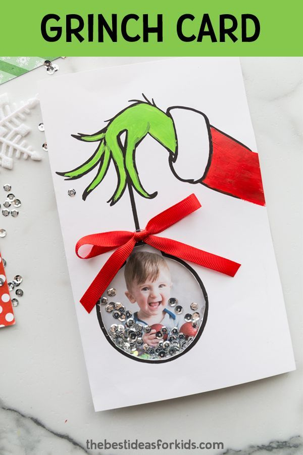 Grinch Card The Best Ideas For Kids Christmas Card Ornaments Christmas Cards To Make Diy Christmas Cards