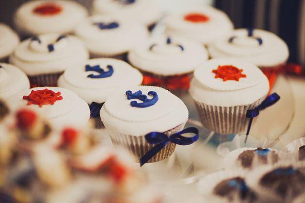Cupcake Navy