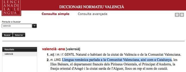 Diccionario Normativo La AVL publica el polémico ´Diccionari´ sin esperar al dictamen del CJC La Acadèmia Valenciana de la Llengua cuelga la...