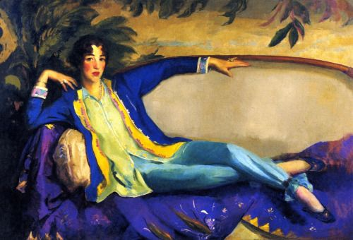 Gertrude Vanderbilt Whitney - Robert Henri 1916