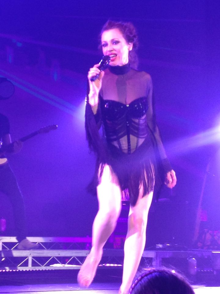 Tina Arena at Cairns Convention Centre August 2014