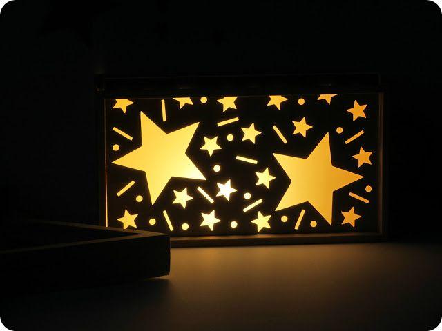 Idée pour les enfants : veilleuse à customiser / Idea for kids : customize a night-light