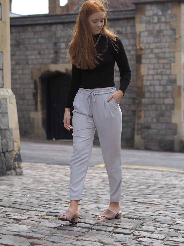 Work Outfit inspiration | Work Trousers