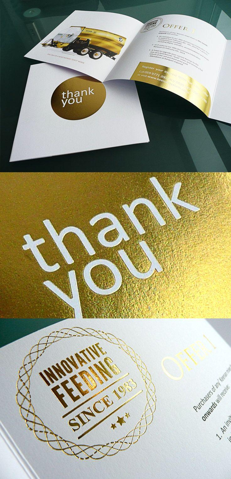 Richard Keenan  Co. Ltd. - 30 Year Anniversary Thank You Card
