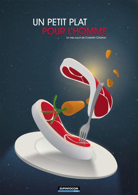 Vidéo – Un Petit plat pour l'Homme by Corentin Charron