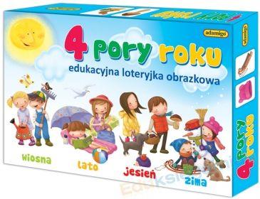 4 pory roku - edukacyjna loteryjka obrazkowa