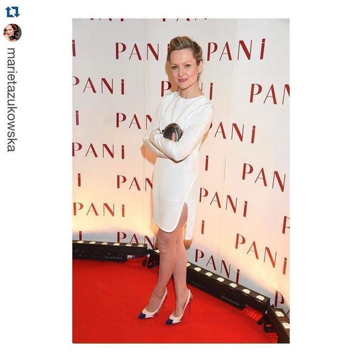 #Repost @marietazukowska ・・・ Thank You @podwikaofficial ❤️your dress#świetny#projektant#marietazukowska #marietażukowska #whitedress #louboutin #redcarpet @louboutinworld #gala #magazyn#pani #actress #polishgirl #polishactress #lovemyjob ❤️ @_alicja_napiorkowska ❤️