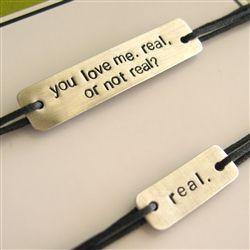 Real or Not Real Bracelet Set - Hunger Games