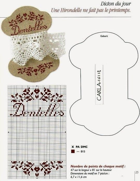 "Lovely heart things: Cross Stitch: ""Bobbins for lace and sewing"""